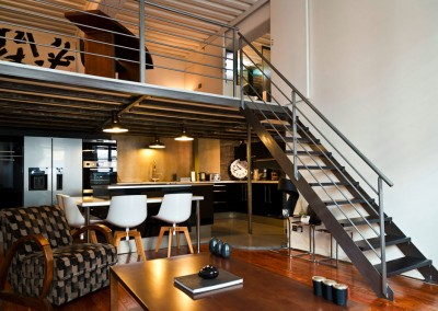 Rénovation d'un appartement de canut en duplex à Lyon Croix Rousse