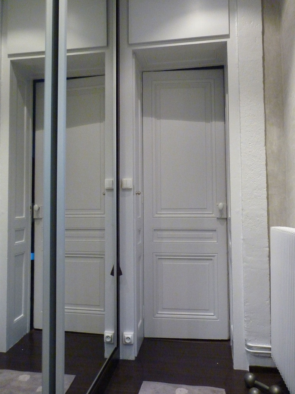 r novation de salle de bain dans un appartement rue jarente lyon stellati r novation. Black Bedroom Furniture Sets. Home Design Ideas